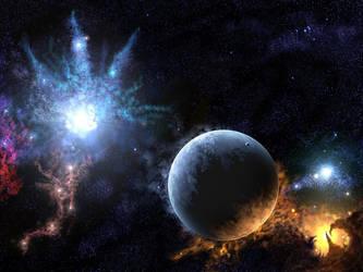 Deep Space Scene 1 by kj359