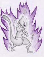 Mewtwo by Kli