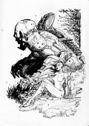Moleskine sketches... by danielpicciotto