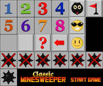 Ui art for Classic Minesweeper by pixelartkid
