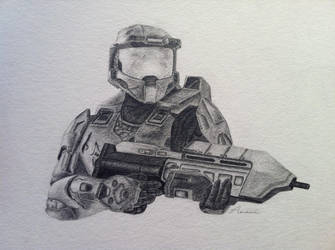 Master Chief by amaniness