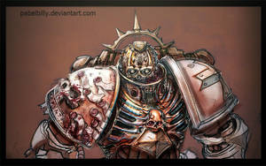 warhammer space marine by PabelBilly