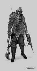 veteran krieg soldier ver2 by PabelBilly