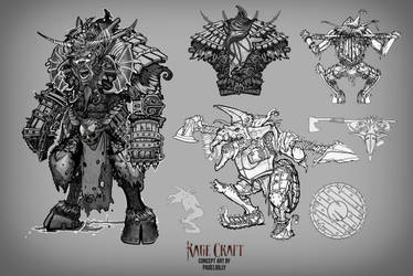 Concept for miniatures by PabelBilly
