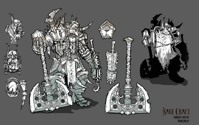 Concept for miniatures3 by PabelBilly