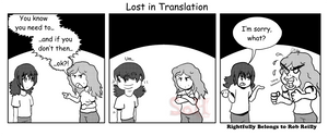 Lost in Translation by Son23