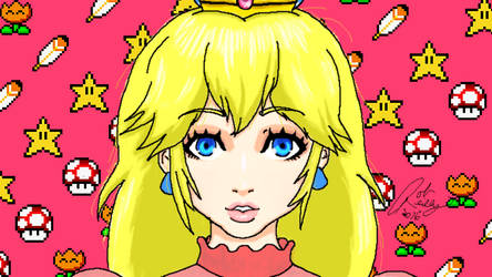 Pretty Princess Peach by Son23