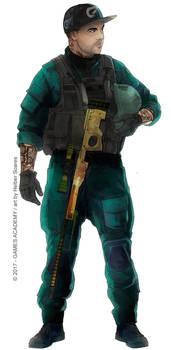 Fox-colorido-SK.CS-Team-WB by HelberS