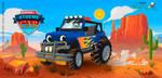 CARRO - (estojos kids) - XTREME CARS by HelberS