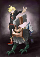 Type:Null with Gladion by maxabsol