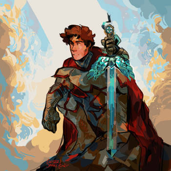 sir galahad by Malwur