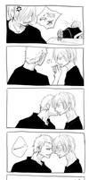 Kiss by yafuu