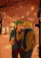 Christmas Night by yafuu
