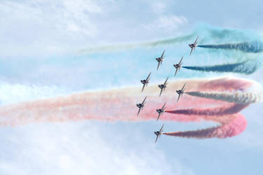 The Red Arrows, 2010. by SomeGuyLol123