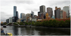 City on the Banks of Yarra by aare