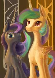Royal Pony Sisters by Plainoasis