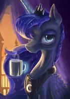 Portrait with a Mug by Plainoasis