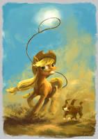 The Earth pony way by Plainoasis