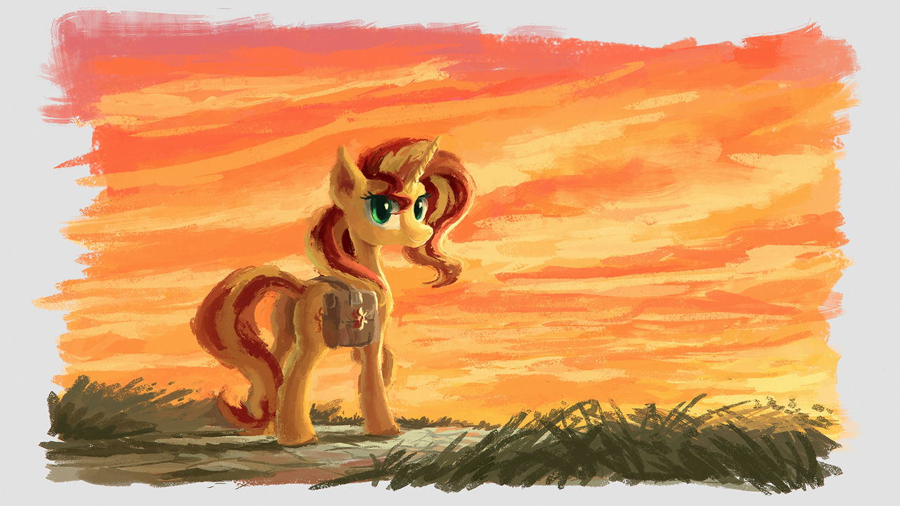 For Sunset Shimmer Day by Plainoasis