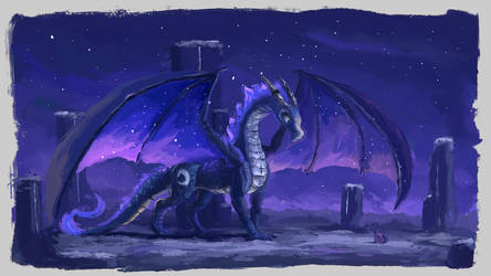 Luna Dragon by Plainoasis