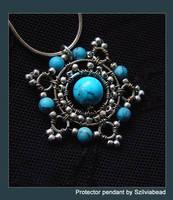 Protector pendant by bodaszilvia