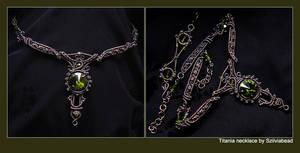 Titania necklace by bodaszilvia