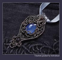 Charlotte pendant by bodaszilvia