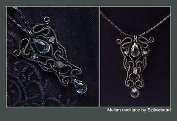 Melian necklace by bodaszilvia