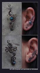 two more custom ear cuffs by bodaszilvia