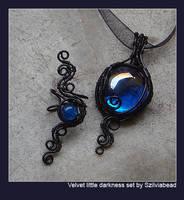 Velvet Little Darkness set by bodaszilvia
