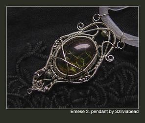 Emese 2. pendant by bodaszilvia
