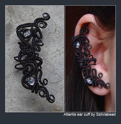 Atlantis ear cuff by bodaszilvia