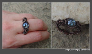 Magic pond ring by bodaszilvia
