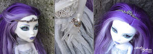 Monster High jewelry set for Spectra Vondergeist by bodaszilvia