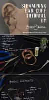 STEAMPUNK EAR CUFF TUTORIAL by bodaszilvia