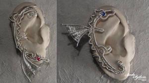 Dragon ear cuffs by bodaszilvia