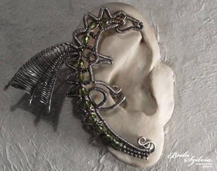 Dragon ear wrap by bodaszilvia
