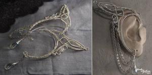 Galadriel ear wrap - 1 pair by bodaszilvia