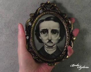 Poe portrait by bodaszilvia