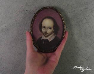 Shakespeare portrait by bodaszilvia