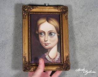 Charlotte Bronte portrait by bodaszilvia
