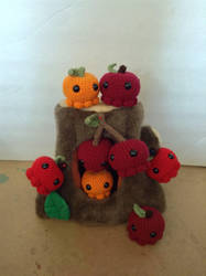 Fructopuses! by AshlynsCrafix
