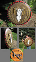 Grecian Round Shield (also weapons grade) by Deorse