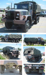 Am General M35a2 Deuce And A Half By Deorse On Deviantart