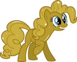 Golden Pinkie Pie!!!! by MrCbleck