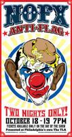 NOFX 'Obama Clown' Poster by luvataciousskull