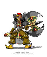 Iron Knuckle - The Gerudo Secret by luvataciousskull