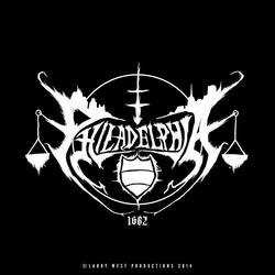 Philadelphia Black Metal Logo - Version 2 by luvataciousskull