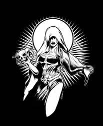 Satanic Witch by luvataciousskull