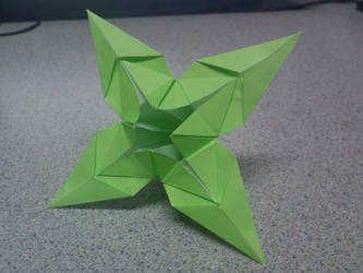 Origami Lily Variation by TheOrigamiArchitect
